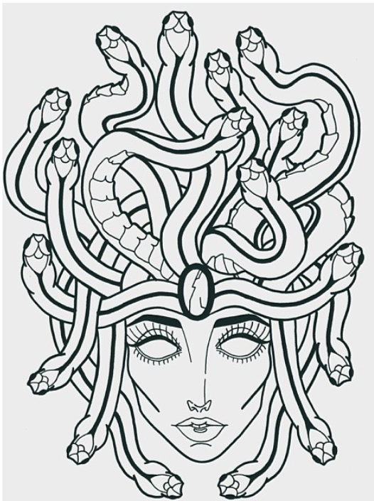 Medusa Tattoo Template by myheartforsale on DeviantArt