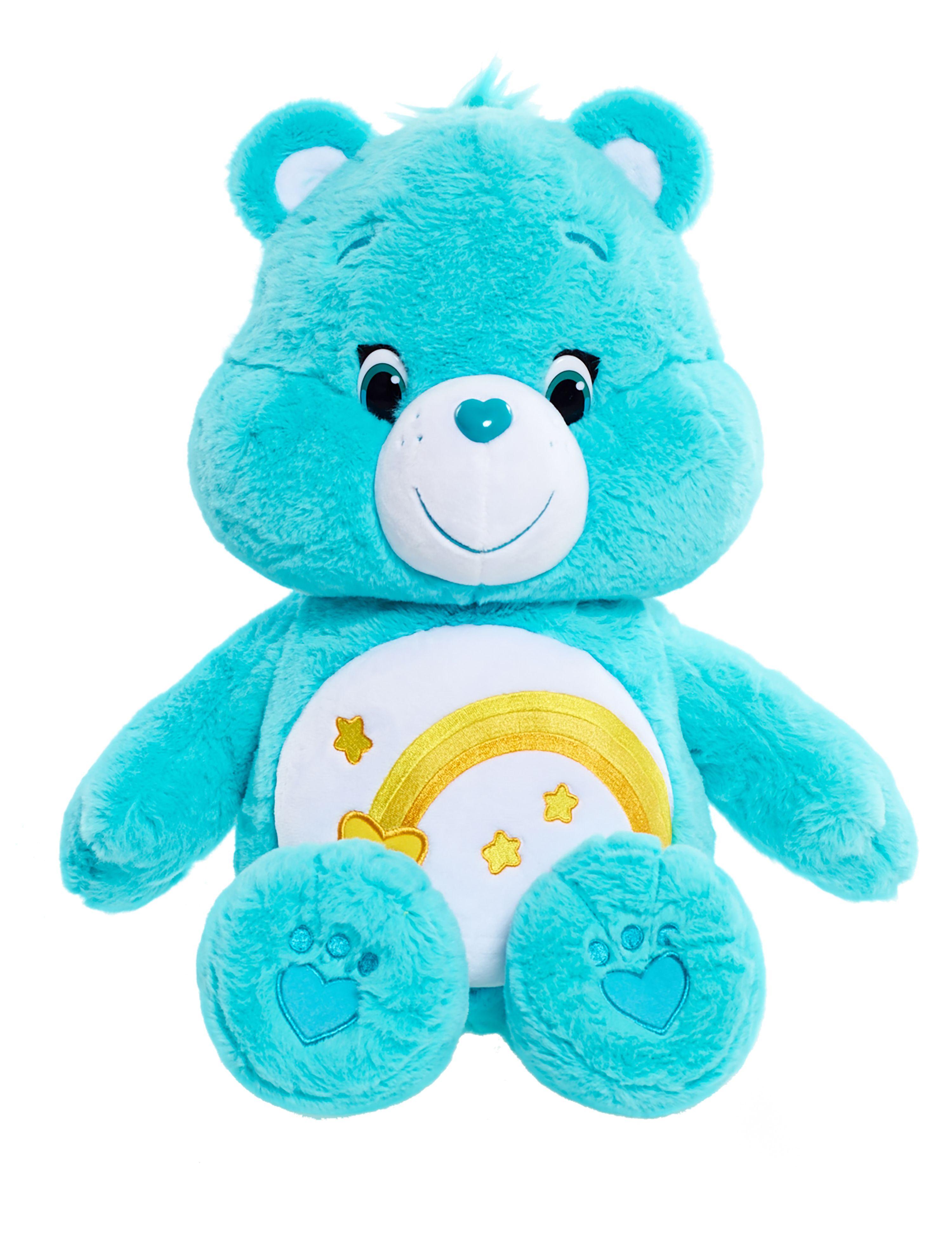 Message Recorder Stuffed Animals, Disney 25 Care Bears Jumbo Plush Wish Care Bears Plush Care Bear Care Bears