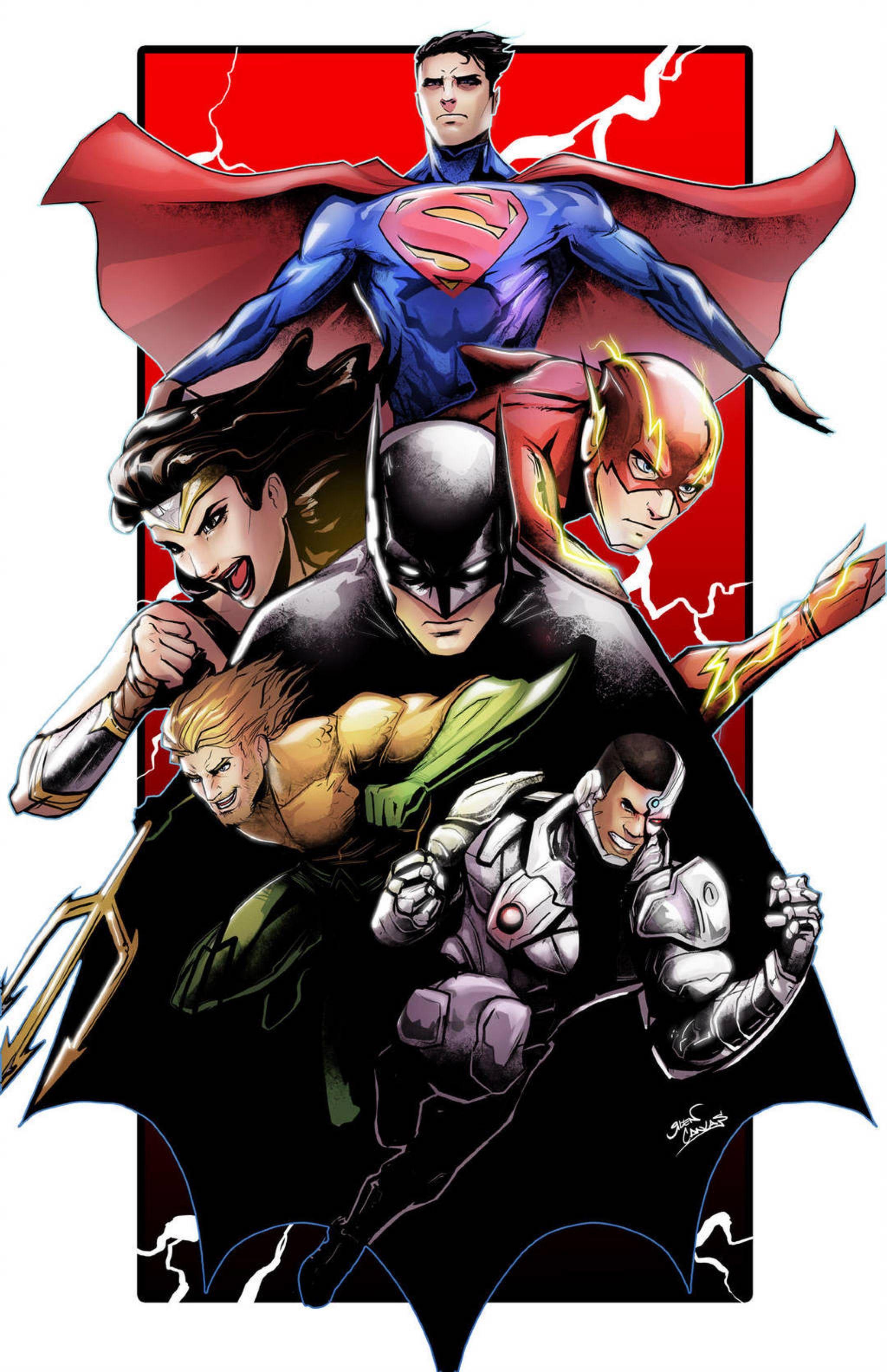 Justice league by glencanlas on @DeviantArt   Justice league art ...