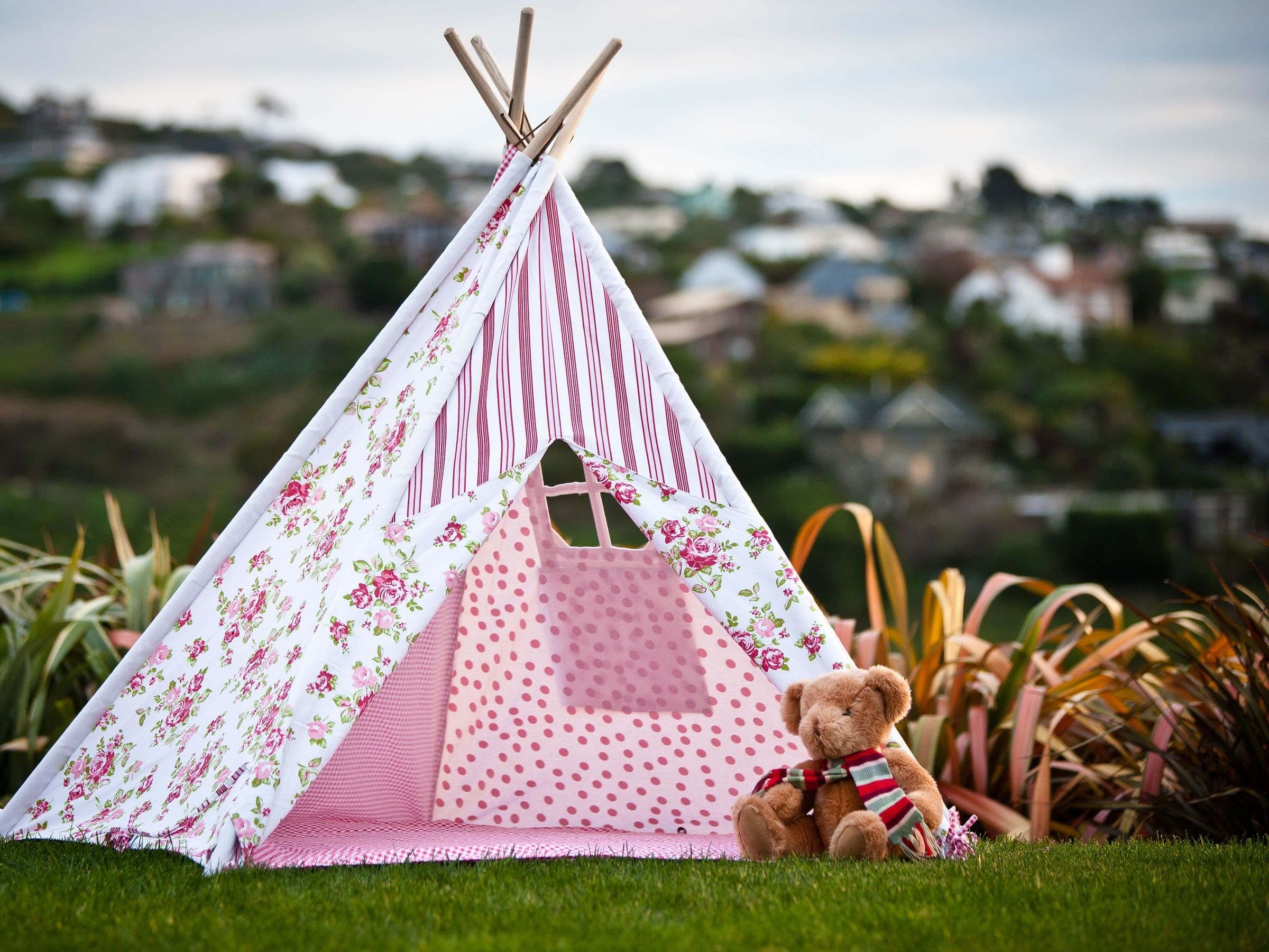 Buy Teepees for Kids Online u2013 Childrens Canvas Tipis or Teepee indian style teepees for Kids & $99 with afterpay variety of patterns | Toys Oscar Wants ...
