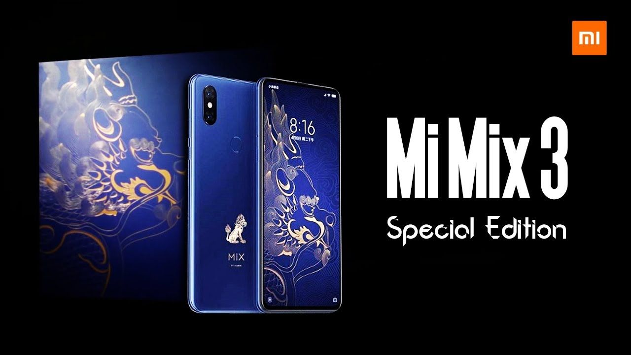 Xiaomi Mi Mix 3 Special Edition Officially Confirmed How Hot Is It Xiaomimimix3 Mi Mobile Technology Technology Updates Latest Technology Updates