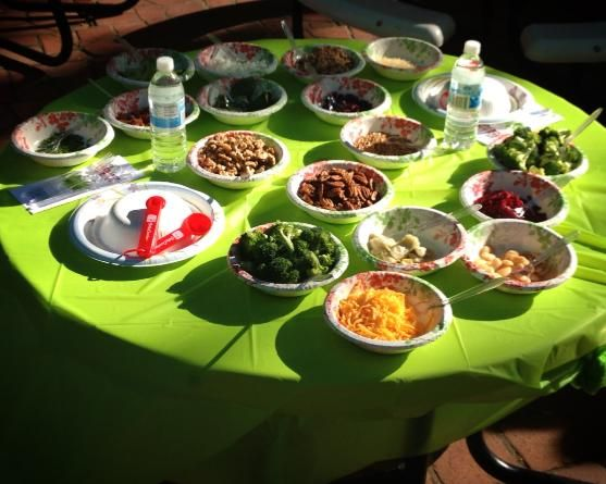 Last weekend the Junior League of Sacramento hosted a kids in the kitchen cook off! What would you do with these ingredients?