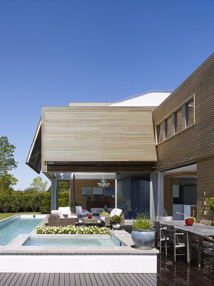 Hamptons new york residence designed in 2012 by stuart l - Residence secondaire austin patterson disston ...
