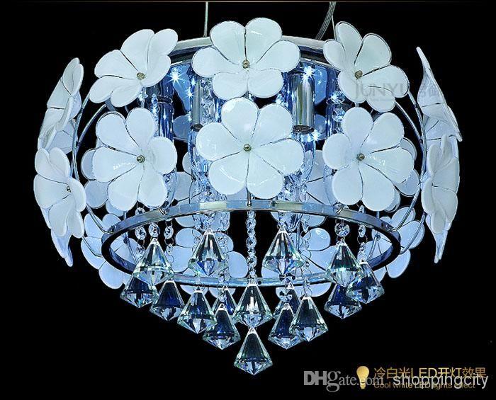 Art Und Weise Führte Kristallhängendes Helles Modernes Kurzes  Gaststättelicht Hängendes Helles Wohnzimmerkristalllampe  Schlafzimmerlampenbeleuchtung