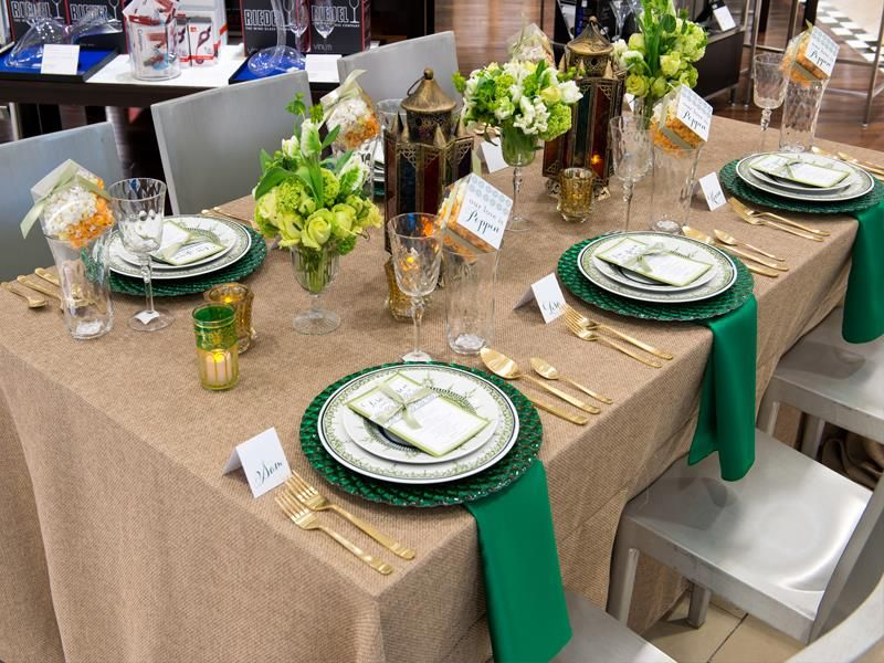 Photo by Arthur Engel Table linens, Table, Linen rentals