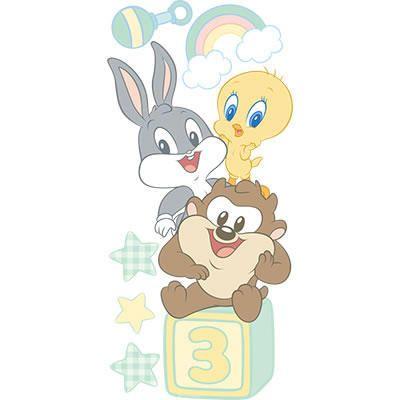 Looney Tunes Wide Wall Cling Wbshop Com Warner Bros Caricatura De Bebe Dibujo De Bebe Dibujos De Puntos