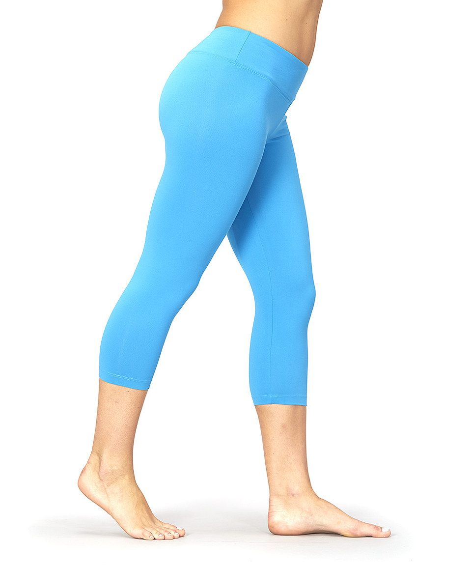 c03d170b7c4cb Love this Diva Blue Sanded Dry-Wik Capri Leggings by Marika on #zulily! # zulilyfinds