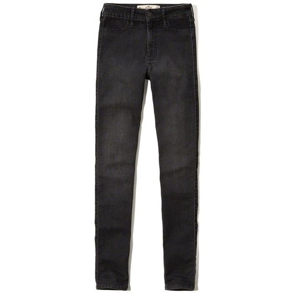 Hollister high rise super skinny jeans review