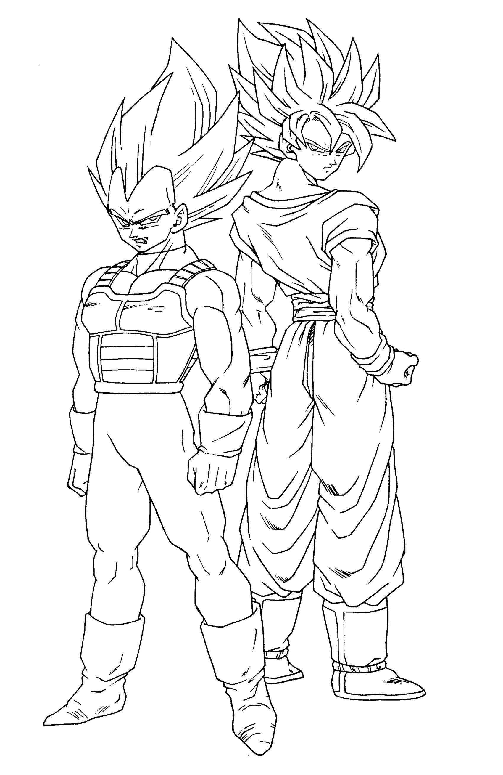 Coloriage Dragon Ball Coloriages pour enfants