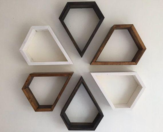 Floating Shelf Shelf Wall Shelves Geometric By