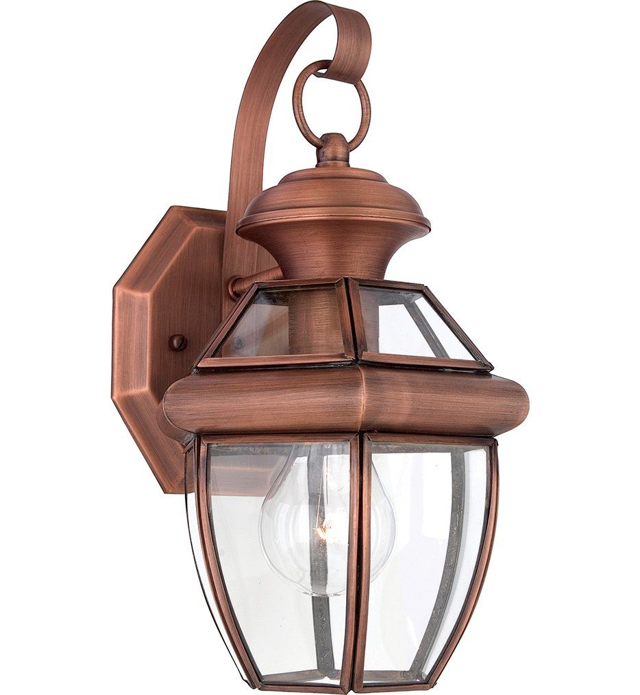 Quoizel Ny8315acfl Newbury Outdoor Lantern In Patinaed Solid Copper Amazon Com Outdoor Light Fixtures Outdoor Wall Sconce Copper Outdoor Lighting