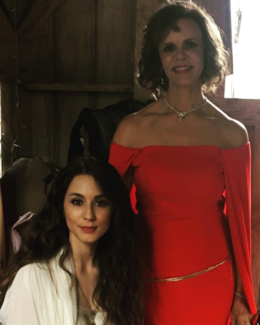 Troian Bellisario with her Mother