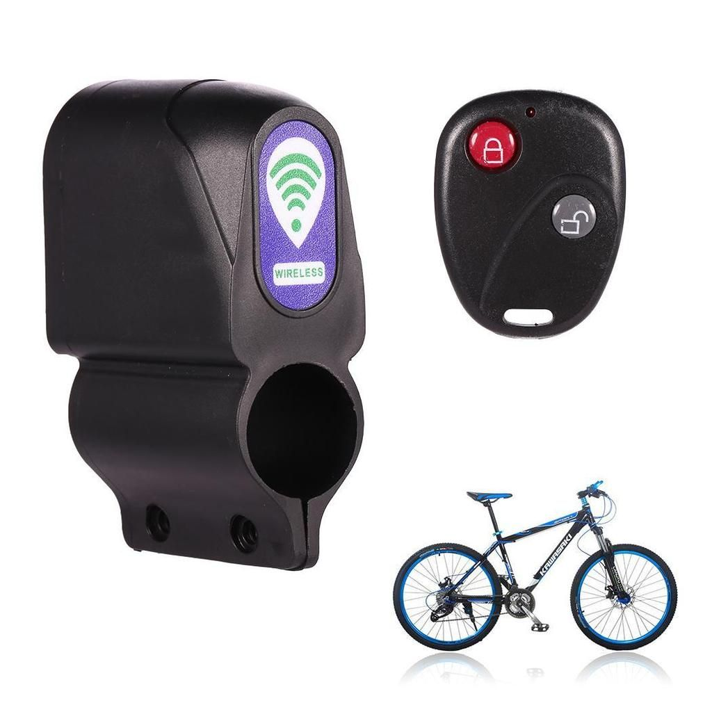 Anti Theft Bike Lock Cycling Security Lock Wireless Remote Control