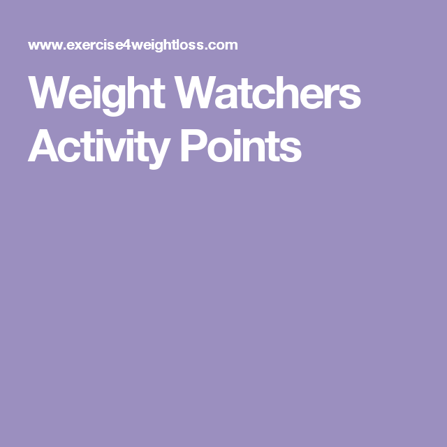 weight watchers activity points ww program info pinterest weight watchers activity points. Black Bedroom Furniture Sets. Home Design Ideas
