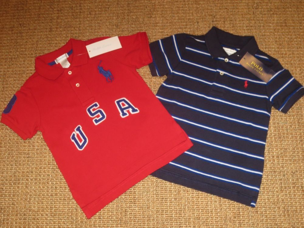 457c836f727 NEW POLO RALPH LAUREN BABY BOY 24 MONTHS POLO SHIRTS BIG PONY  69   PoloRalphLauren