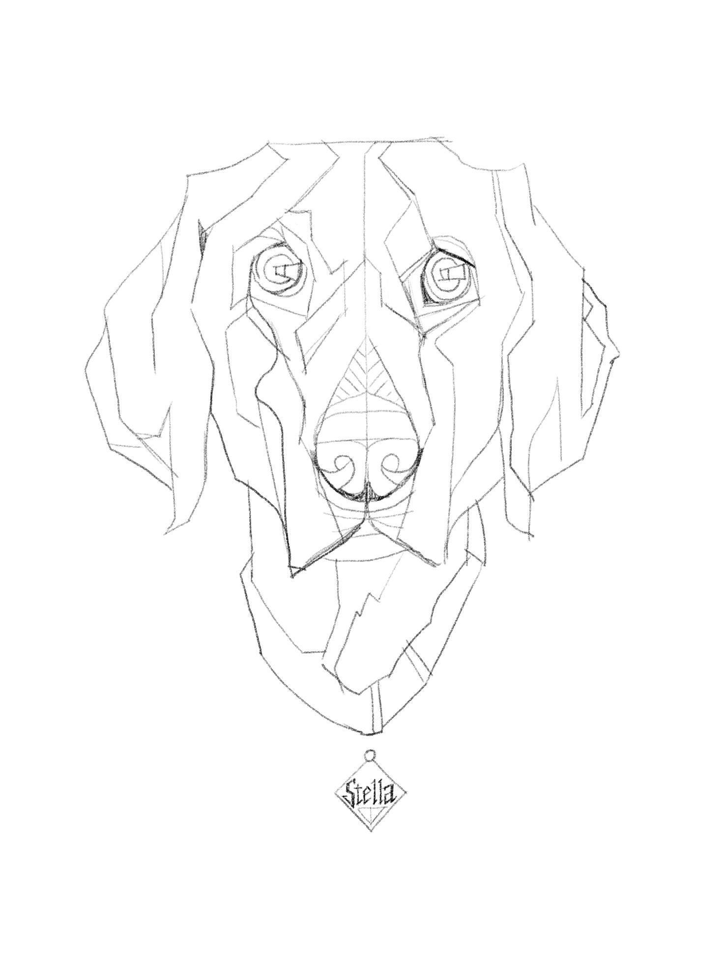 Image Result For Geometric Dog