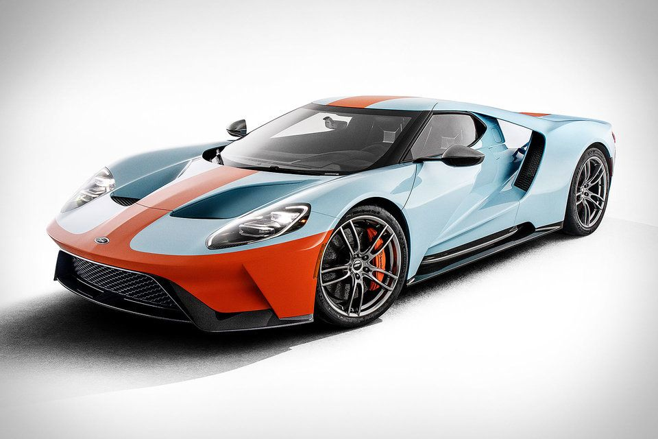 2019 Ford Gt Heritage Edition Coches Deportivos Autos Coches
