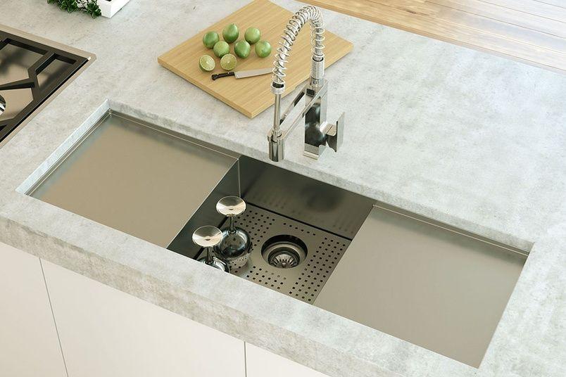 Clark Fusion single centre bowl sink. | kitchen | Pinterest ...