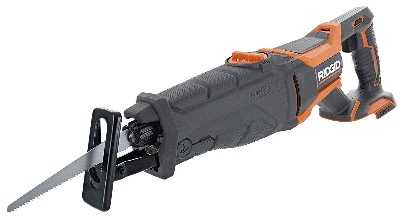 Ridgid R8642 Gen5x Cordless Reciprocating Saw Expert Home Tools Cordless Reciprocating Saw Reciprocating Saw Saw Tool