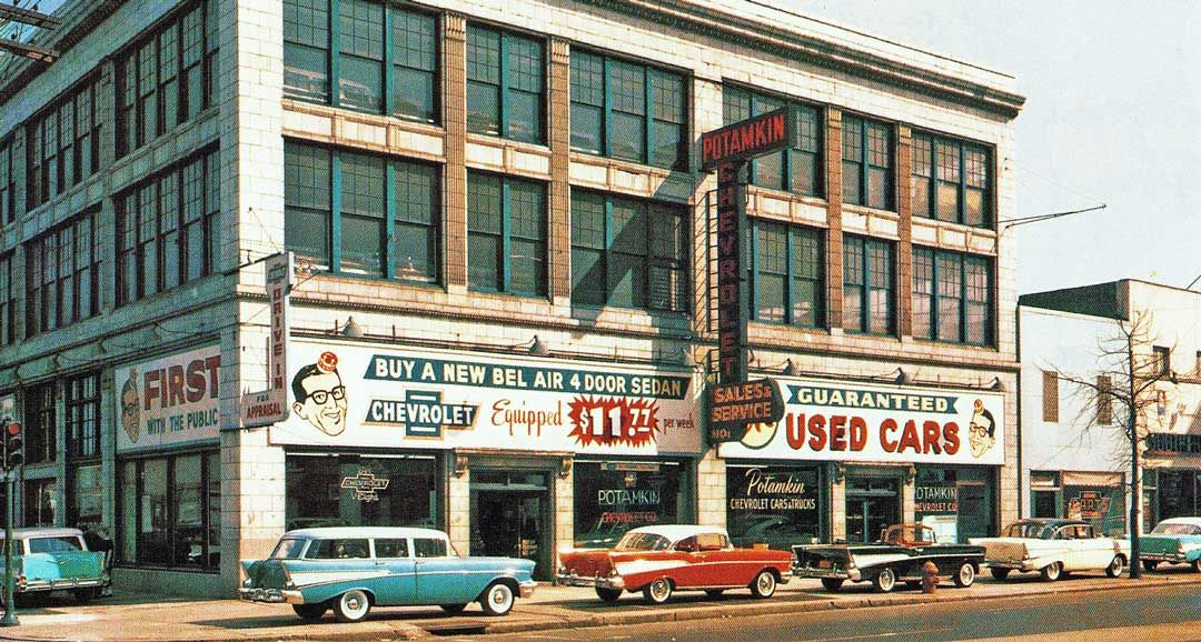 Potamkin Chevrolet Agency Philadelphia 1957 Chevrolet