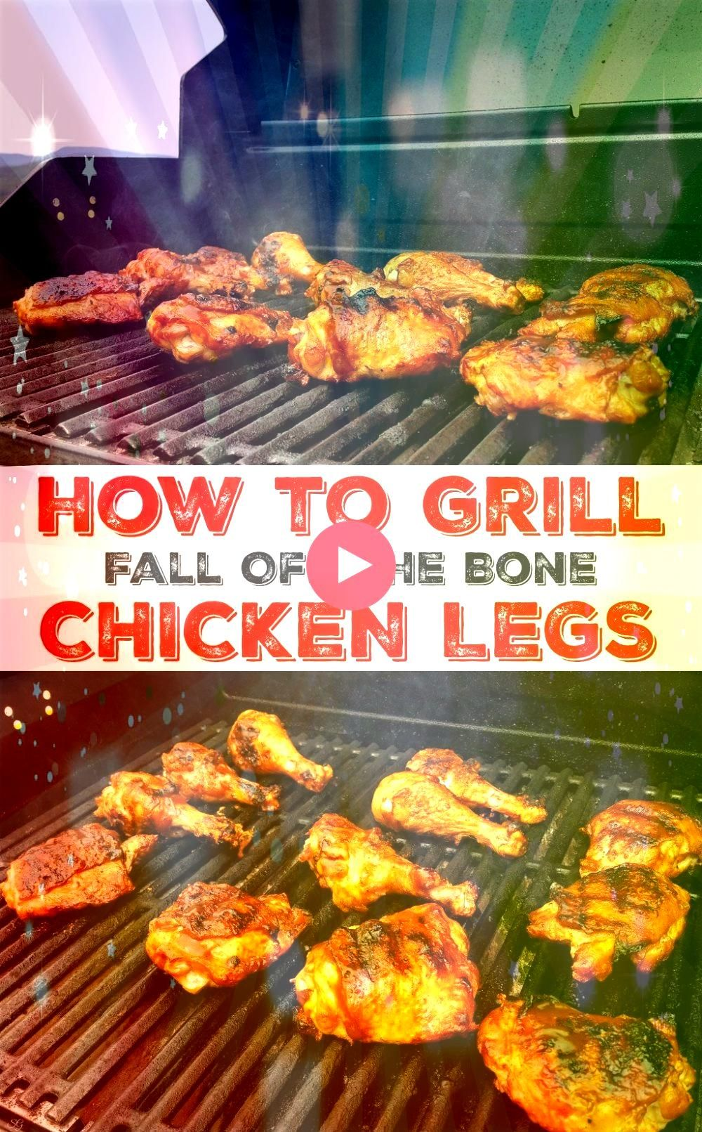 chicken legs Learn how to grill chicken legs that fall off the bone and taste so good youll want to cook them every night Fire up the BBQ and lets see how to grill thighs...