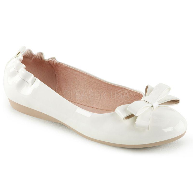 http://www.lenceriamericana.com/calzado-sexy-de-plataforma/39762-zapatos-bajos-bailarinas-linea-pin-up-en-charol-con-triple-lazo.html
