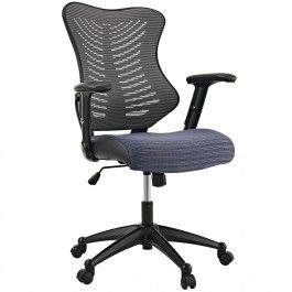 Modway EEI-209-GRY Clutch Office Chair in Gray