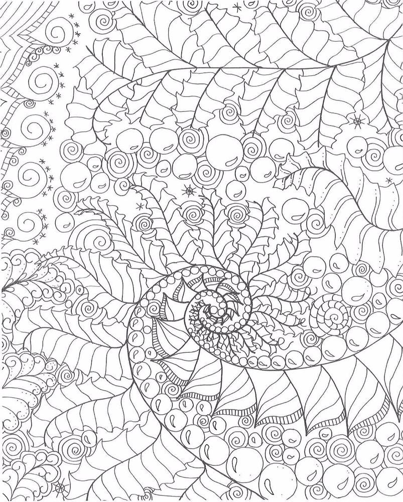 free relaxation coloring pages - photo#45