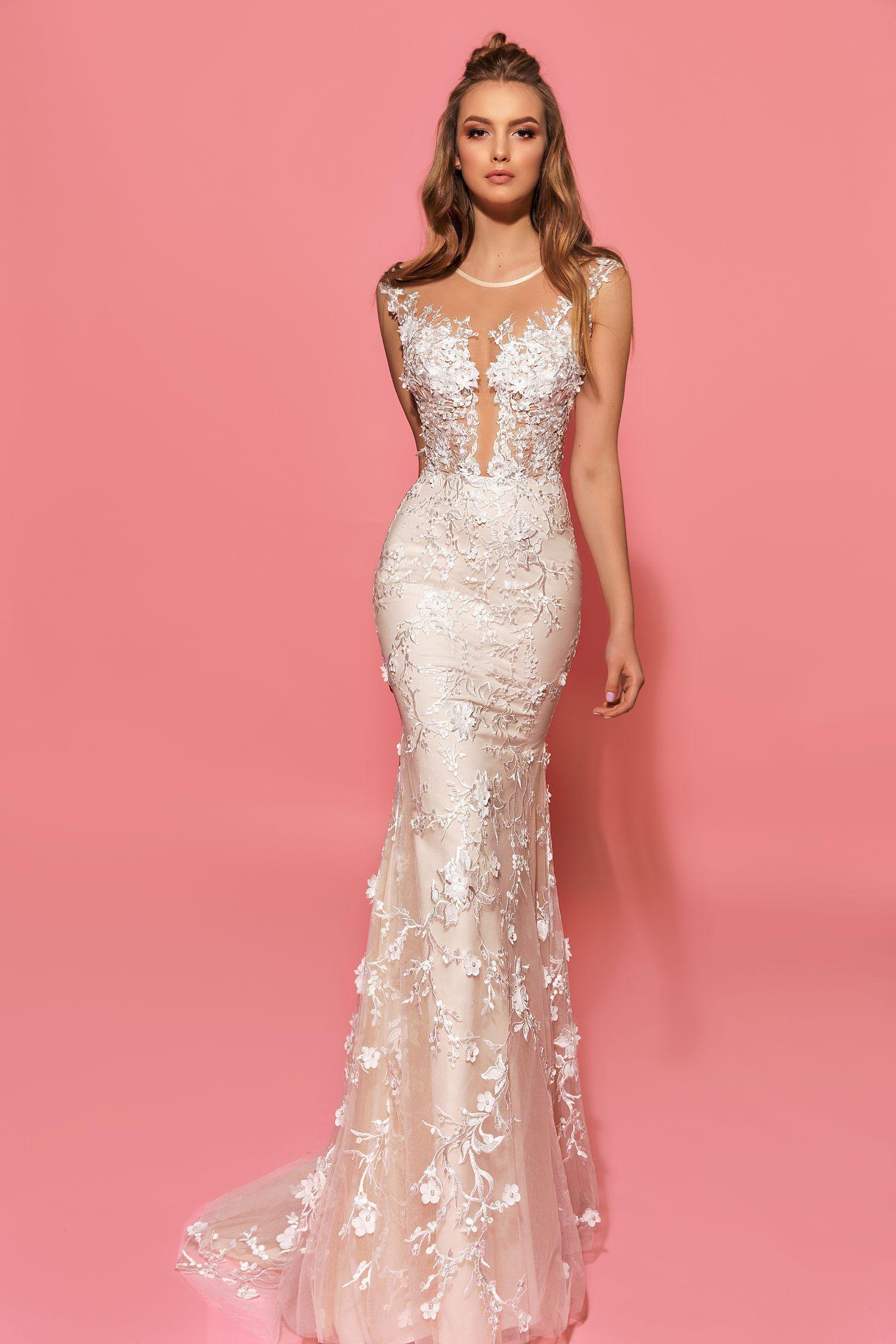 Hizer wedding dress. Eva Lendel Pink Collection | 2017 Bridal ...
