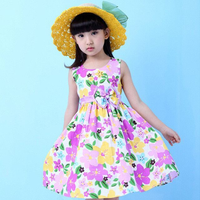 New Pastorale Style summer floral dres