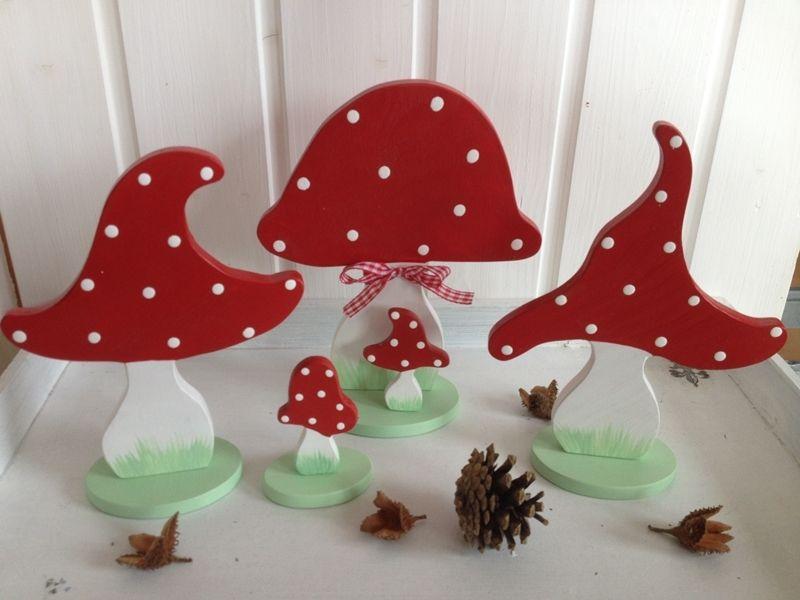 Fliegenpilz Kinderzimmer ~ Wohnaccessoires zuckersüße fliegenpilzgruppe ein designerstück