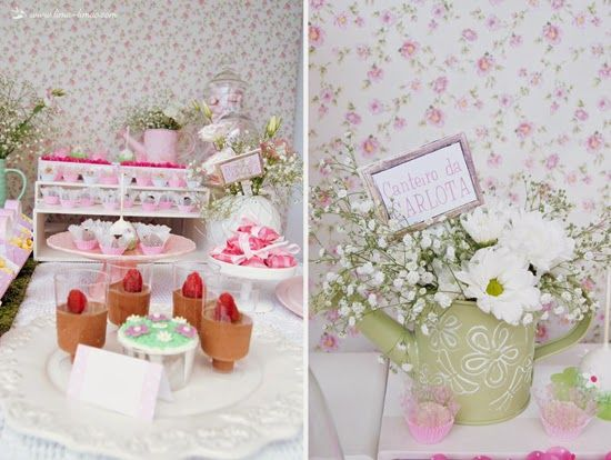 O nosso espaço  abriu as portas ao primeiro aniversário da Carlota. O jardim do Peter Rabbit foi o tema escolhido para esta festa. As flore...