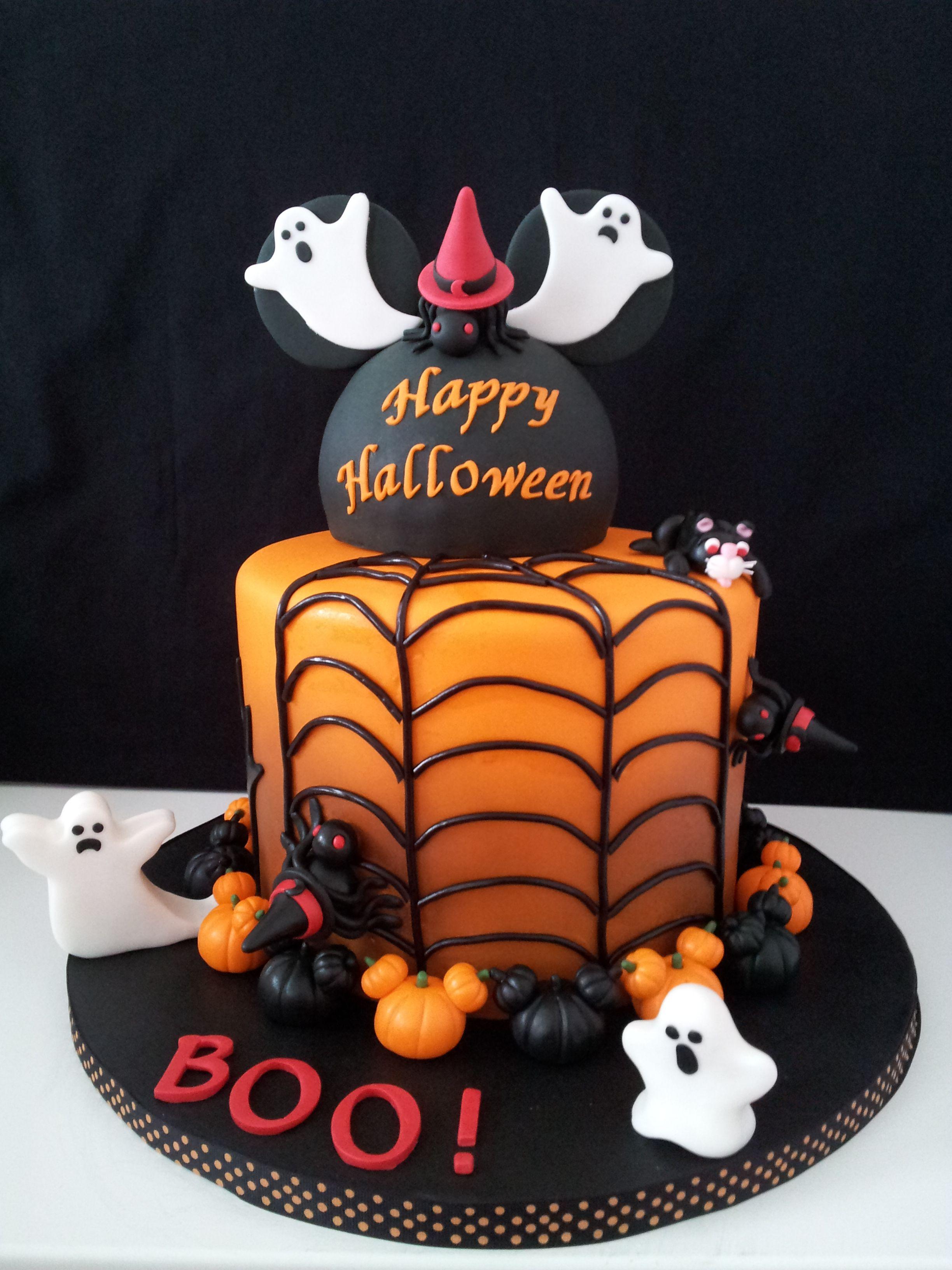 Incredible A Gorgeous Halloween Cake Fall Autumn Halloween Treats Personalised Birthday Cards Epsylily Jamesorg