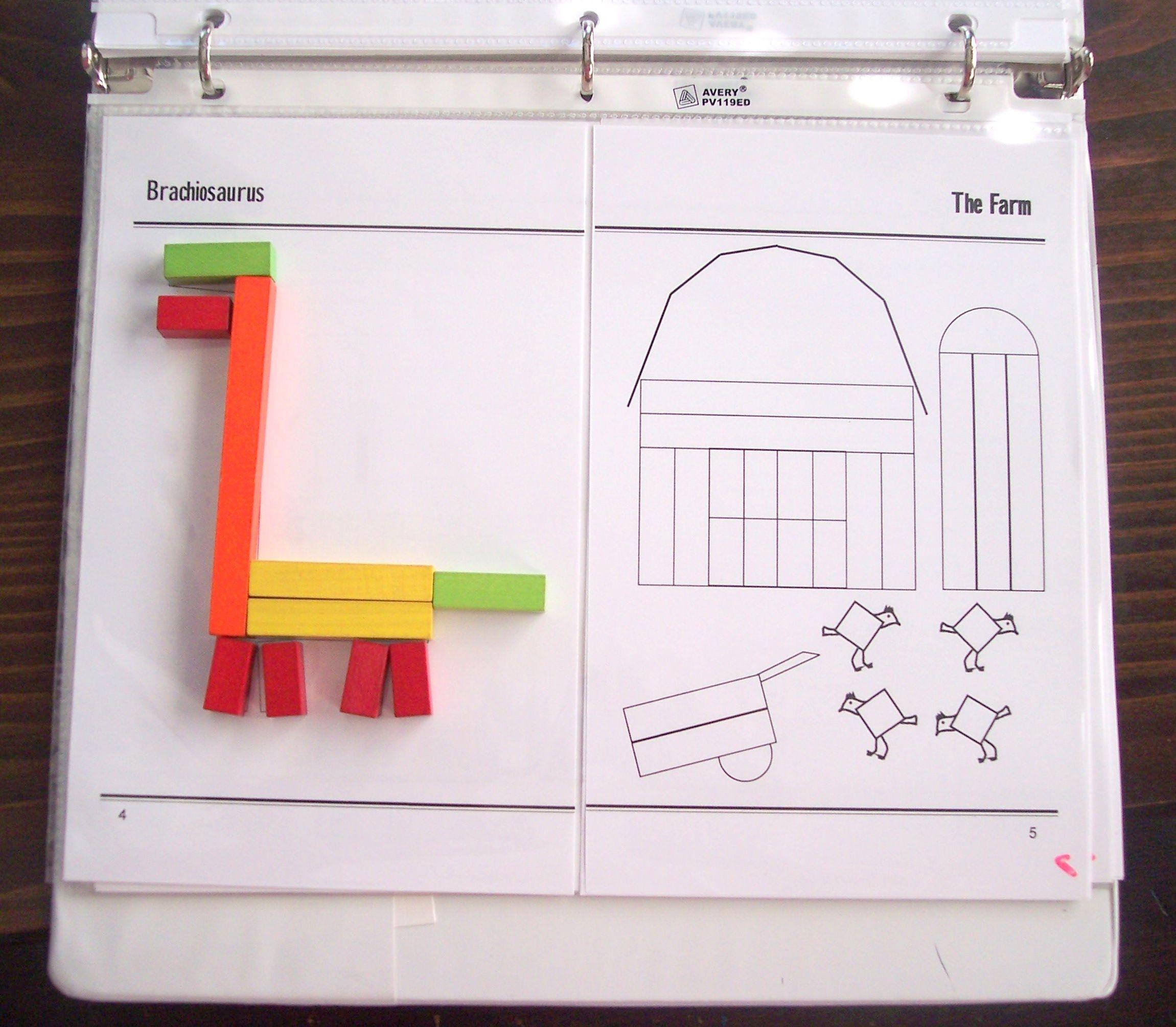 Extra Kindergarten & Preschool Miquon Math Activities With Cuisenaire Rods