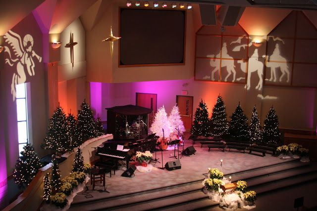 Church Stage Decorating Ideas: May 2011 | Church christmas ...