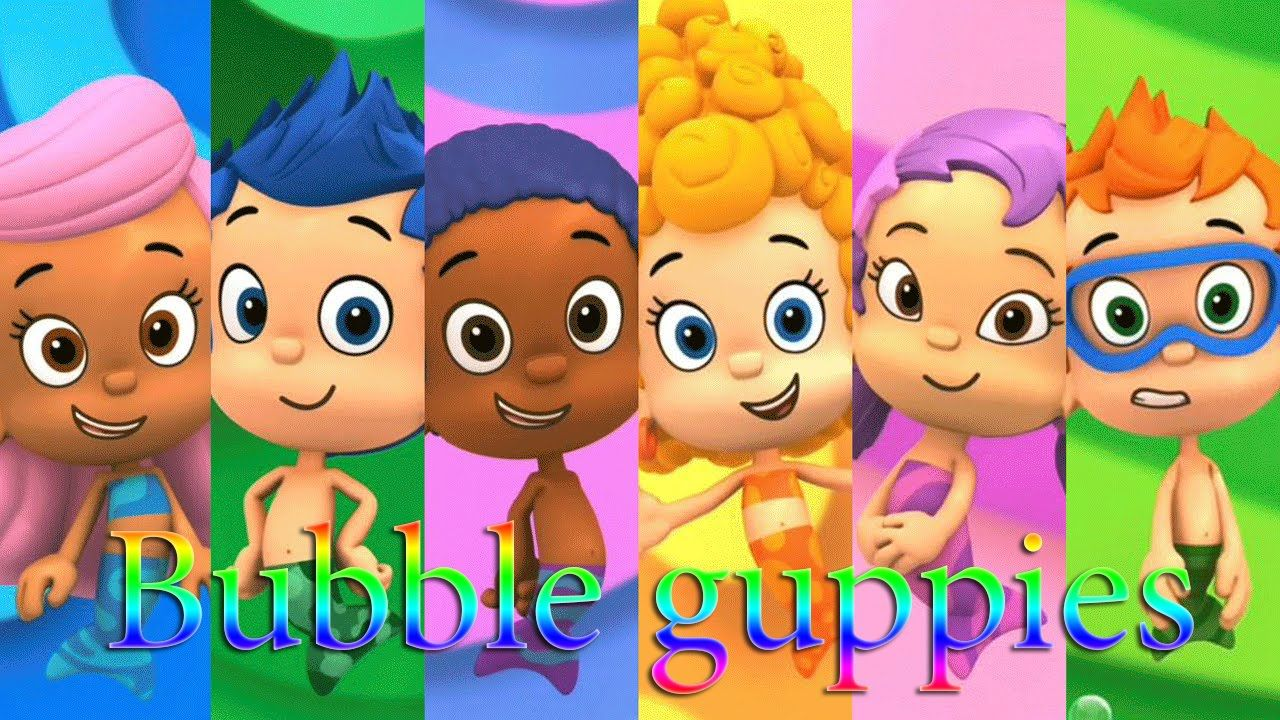 Bubble Guppies Abc Song For Baby - Bubble Guppies Cartoon