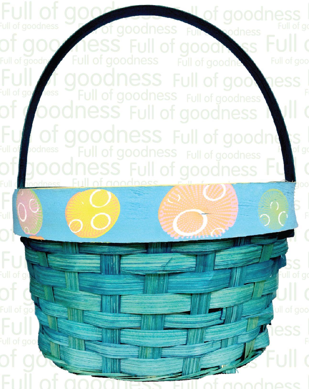 Easter Blue Basket. #Easter2014 #Choithrams
