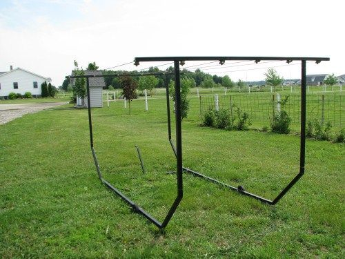 Portable Clothesline Clothes Drying Lines From Cottage Self Sufficient Ba