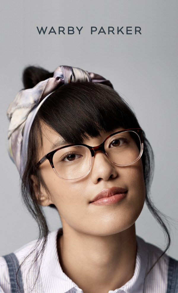 60f1adbd4fe A hint of pink on a pair of frames is always the right call. Shop Warby  Parker s Winter Collection