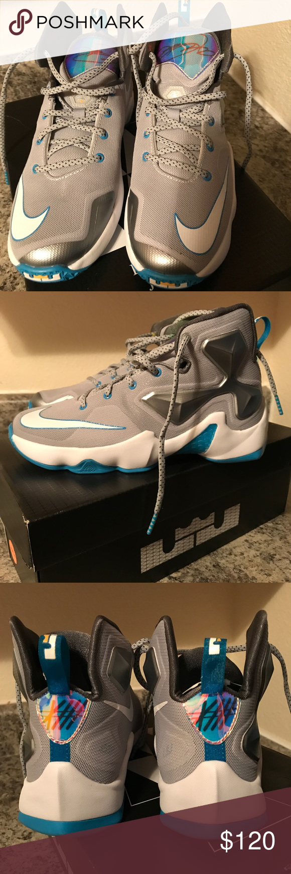 f46a44c025e Lebron James X111 Brand new in box. (Size 5.5 Grade School) Fits a woman  size 7 Nike Shoes Athletic Shoes