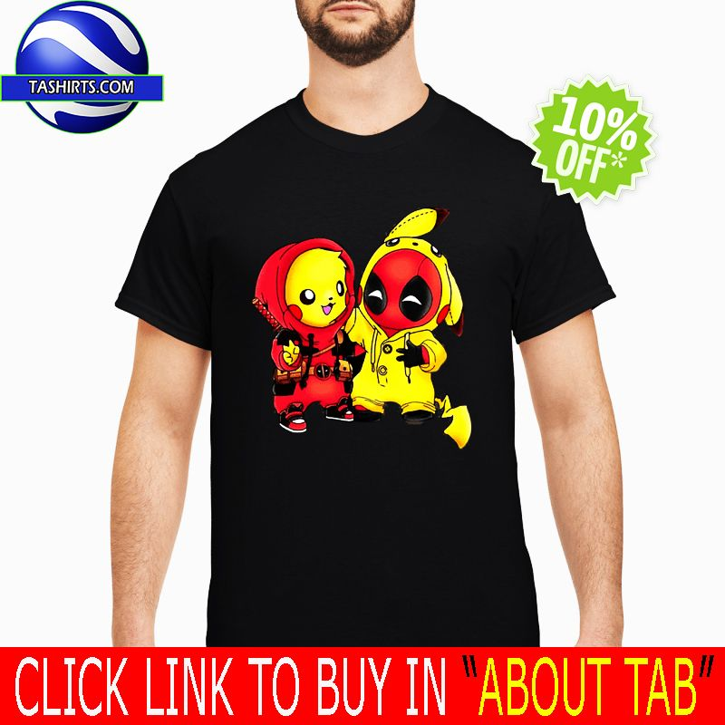 c5b54c13 Pikapool Pikachu Pokemon and Deadpool Shirt and Hoodie Store | Top ...