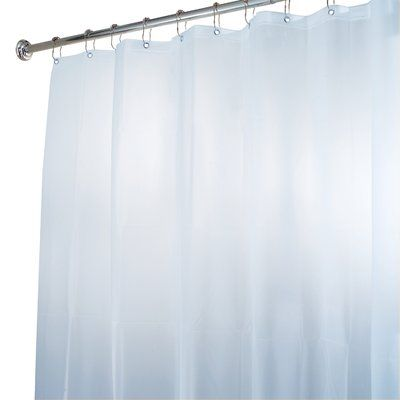 Symple Stuff Siniard Vinyl Single Shower Curtain Vinyl Shower