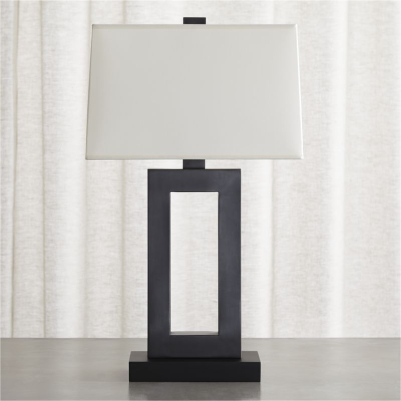 Add Style Sophistication And Light To Your Room With Table Lamps From Crate Barrel