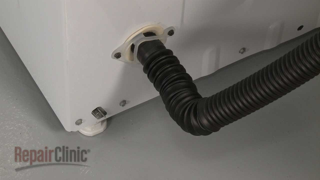 hight resolution of washer drain hose replacement ge top load washing machine repair part