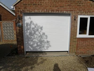 Electric Remote Control Roller Shutter Garage Door MADE TO MEASURE with Fixings & Electric Remote Control Roller Shutter Garage Door MADE TO MEASURE ... pezcame.com