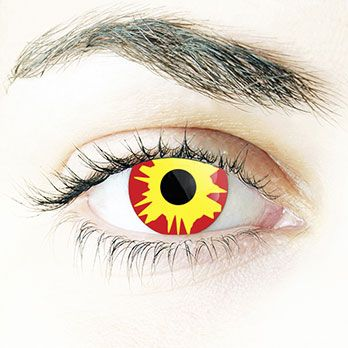 Crazy Lenses Fire #contacts