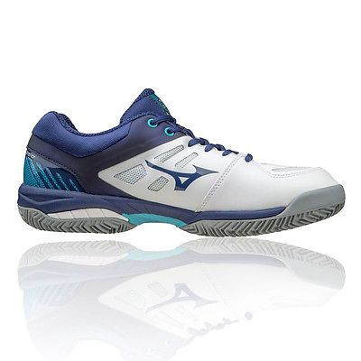 Mizuno Wave Exceed SL CC Mens White Blue Tennis Court Shoes Trainers Pumps  | Trainers | Men's Shoes