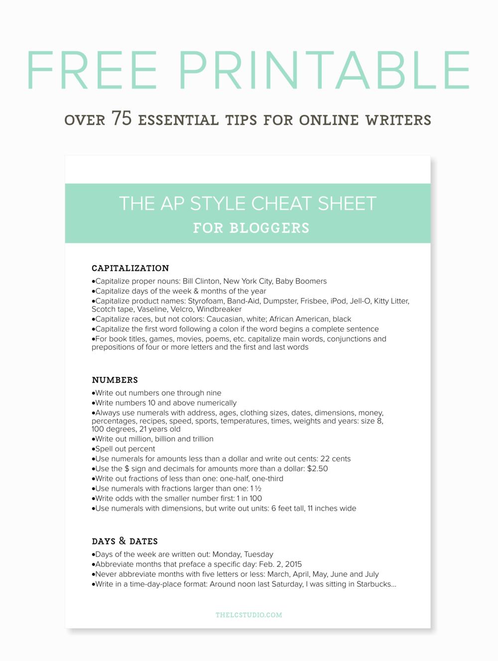 Ap style essay