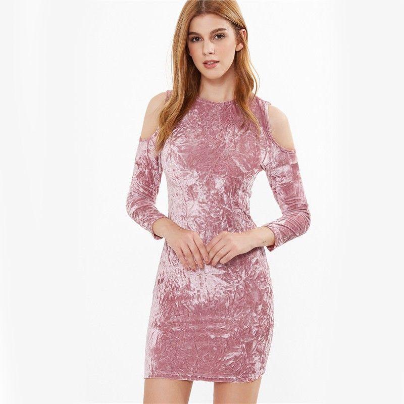Moda Vestidos Feminina Calitta Brasil, Vestido Rosa cor Lavada ...