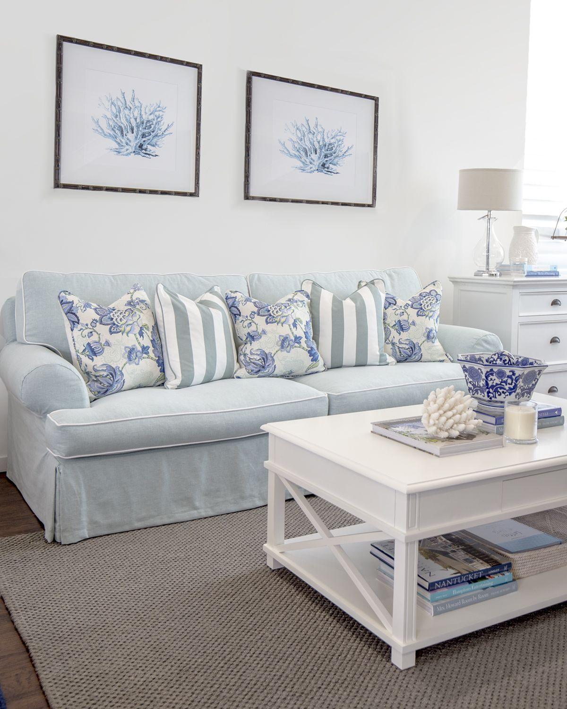 Hamptons style australia barbara lives in a blue for Wohnen einrichten katalog